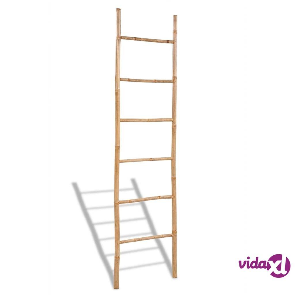 Image of vidaXL Bambu Pyyheteline 6 Poikkiaisaa