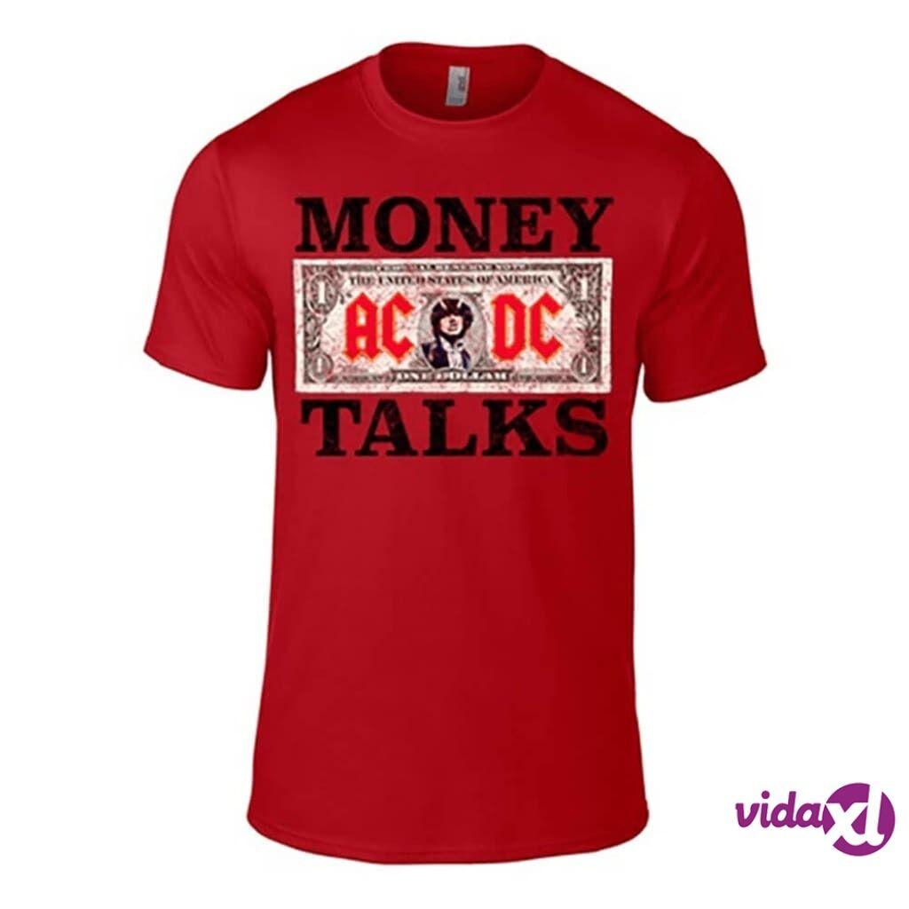 Image of AC/DC Money Talks Punainen T-Paita