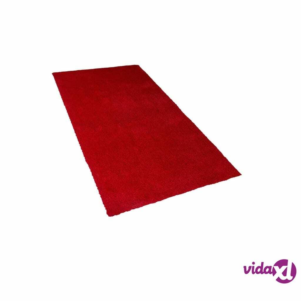 Image of Beliani Matto 80x150 cm punainen DEMRE