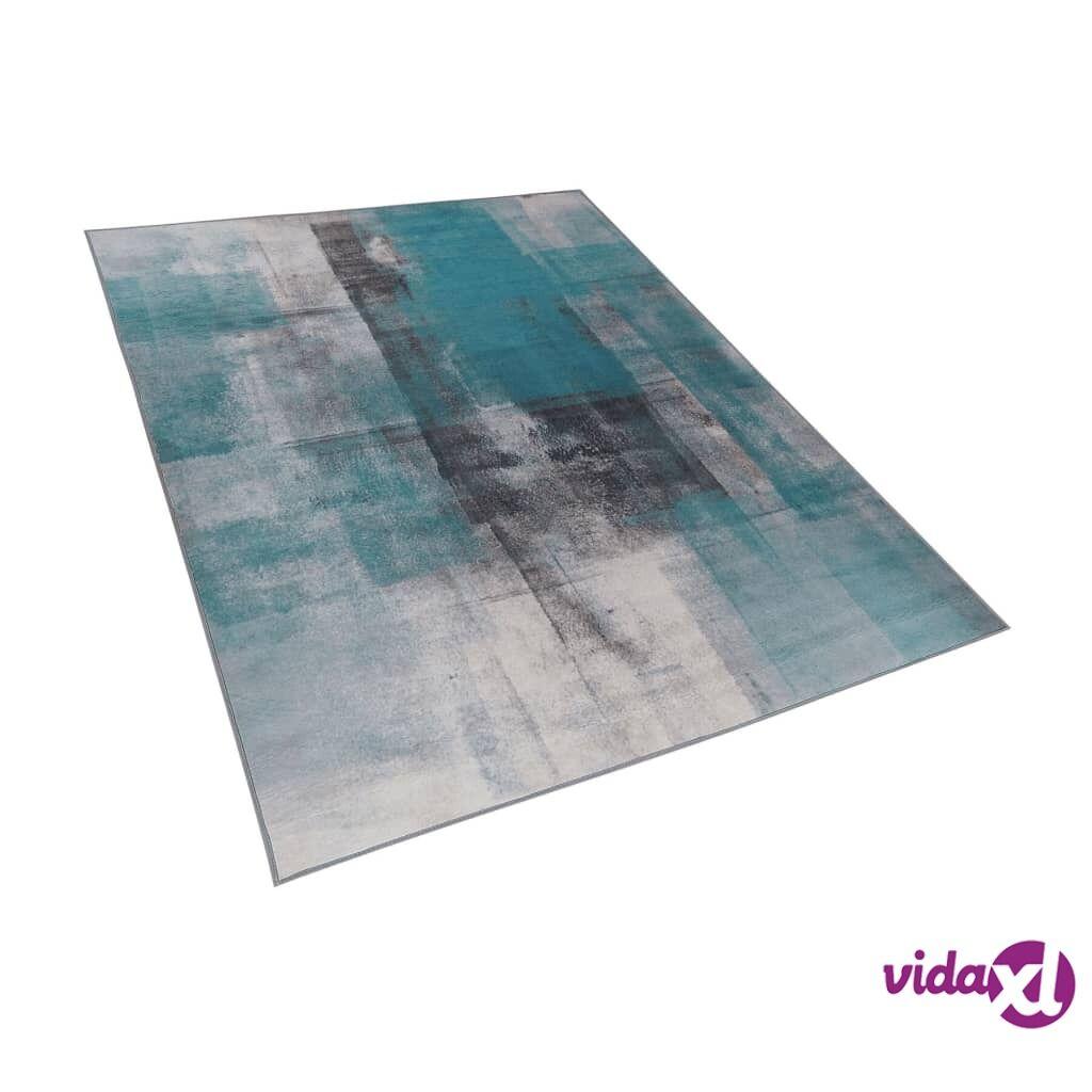 Image of Beliani Matto 160x230 cm sininen TRABZON