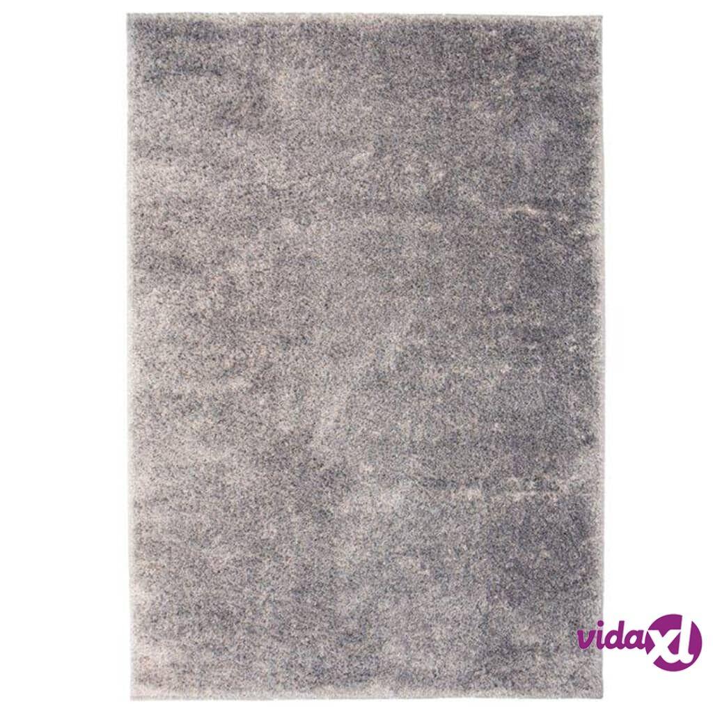 Image of vidaXL Shaggy-matto 120x170 cm harmaa