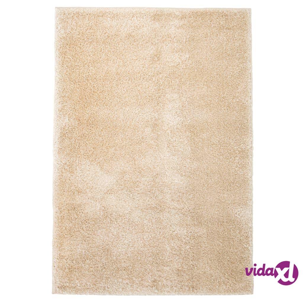 Image of vidaXL Shaggy-matto 120x170 cm beige