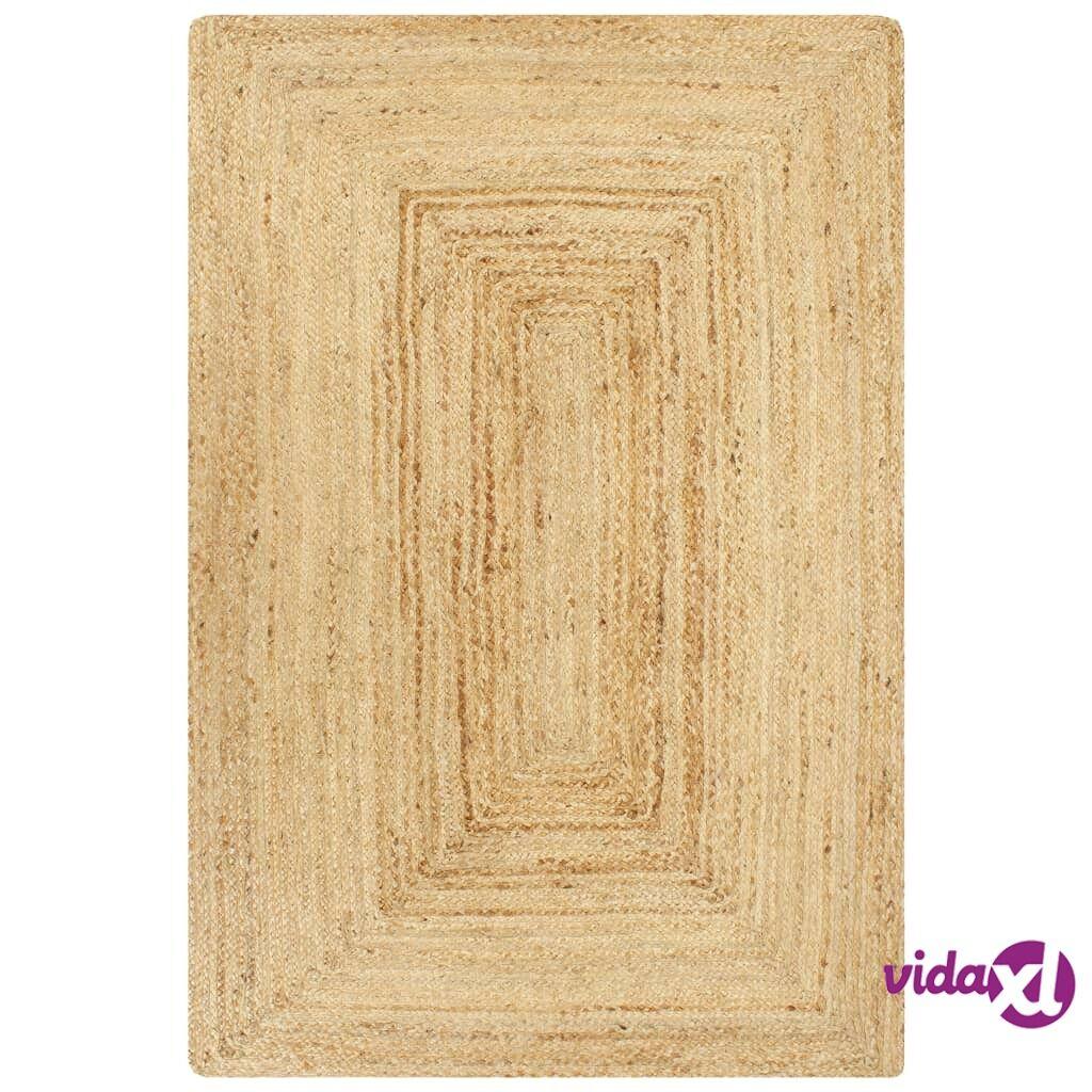 Image of vidaXL Käsintehty juuttimatto luonnollinen 160x230 cm