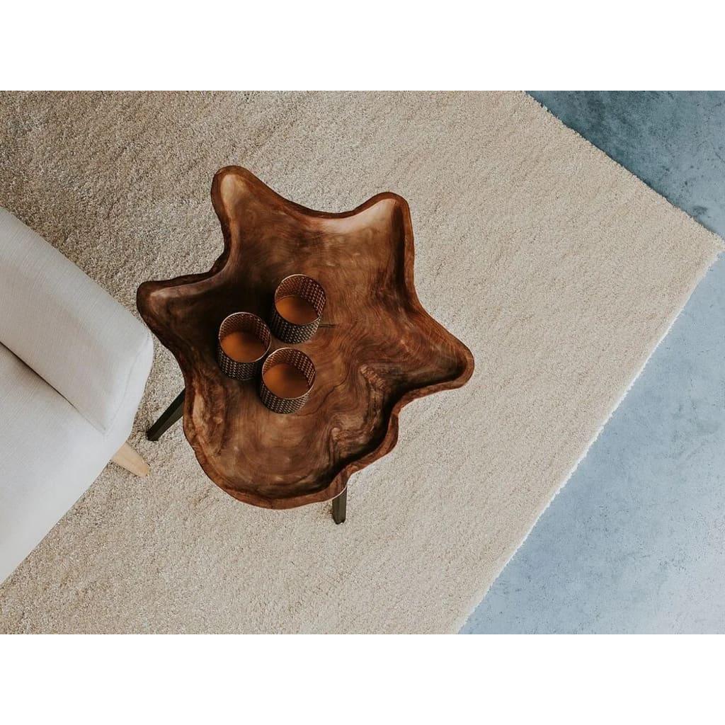 Beliani Ryijymatto beige 160 x 230 cm - DEMRE