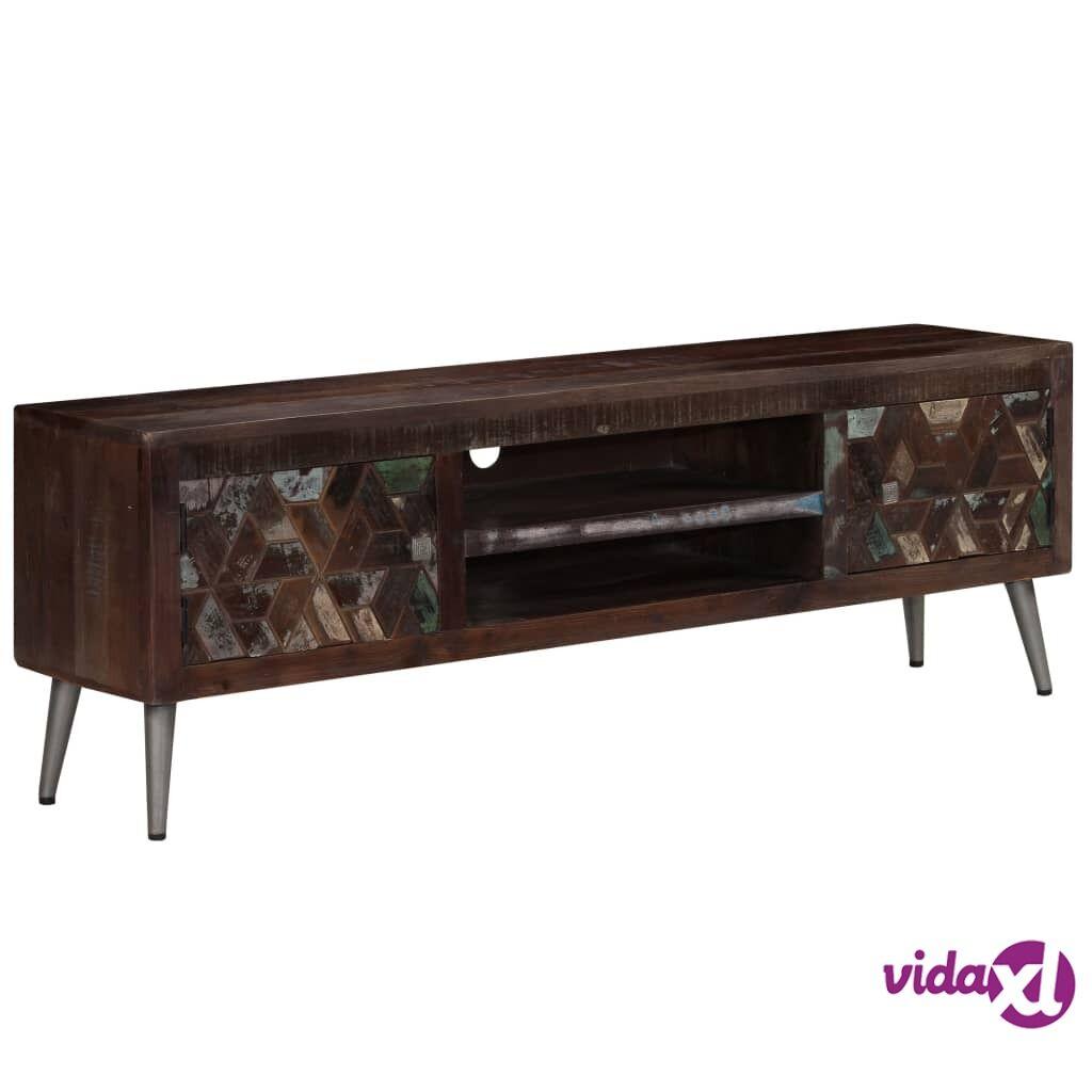 vidaXL TV-taso kierrätyspuu 140x30x45 cm