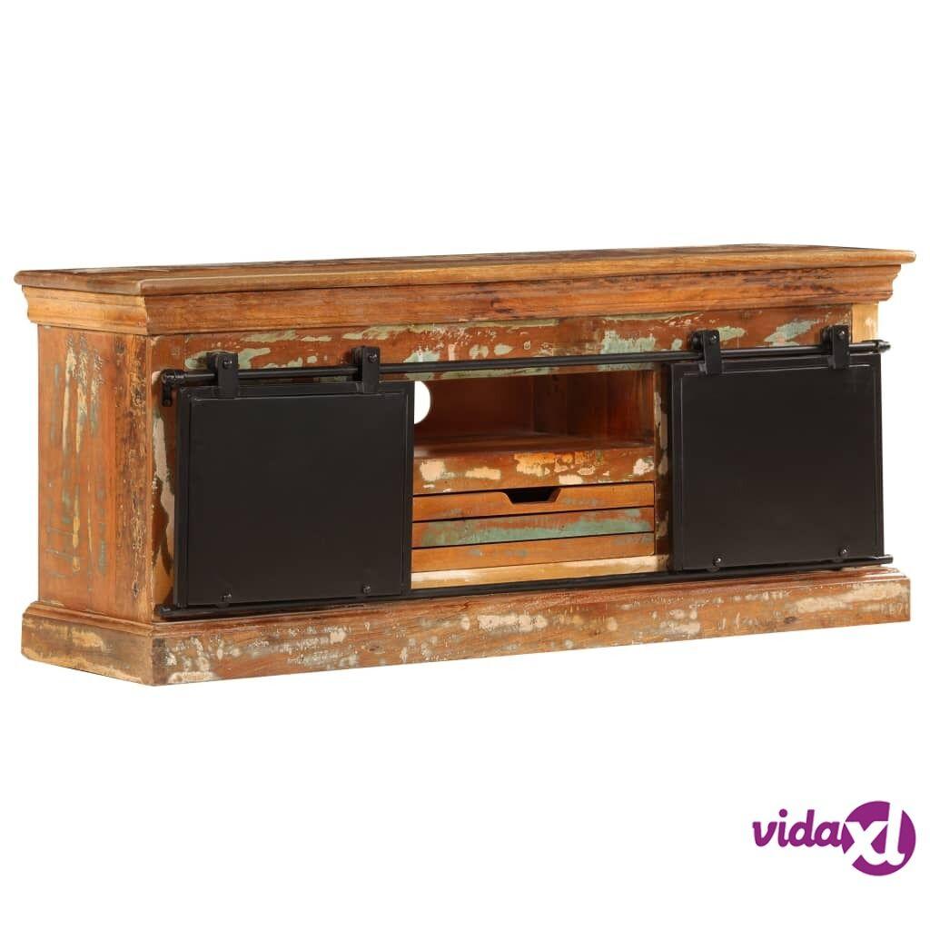 vidaXL TV-taso 110x30x45 cm kierrätetty puu