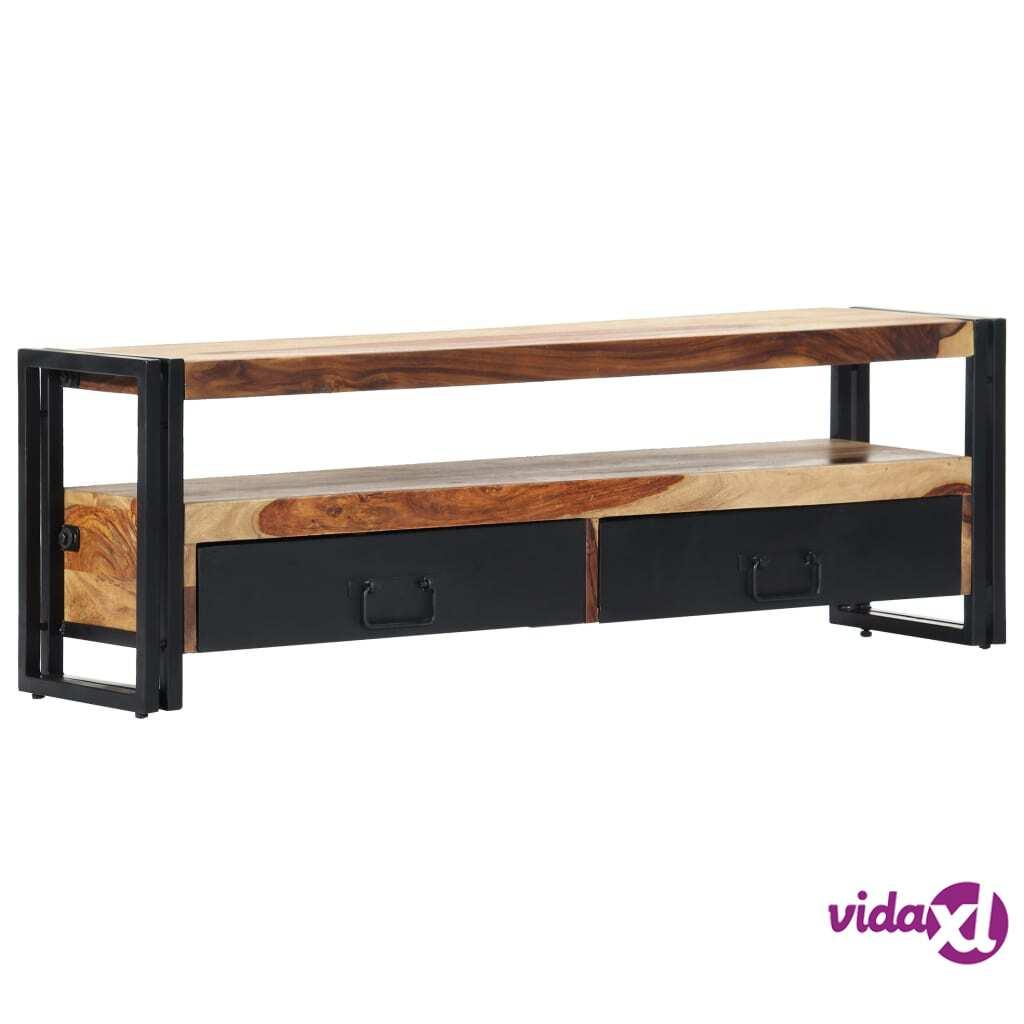 vidaXL TV-taso 120x30x40 cm täysi seesampuu