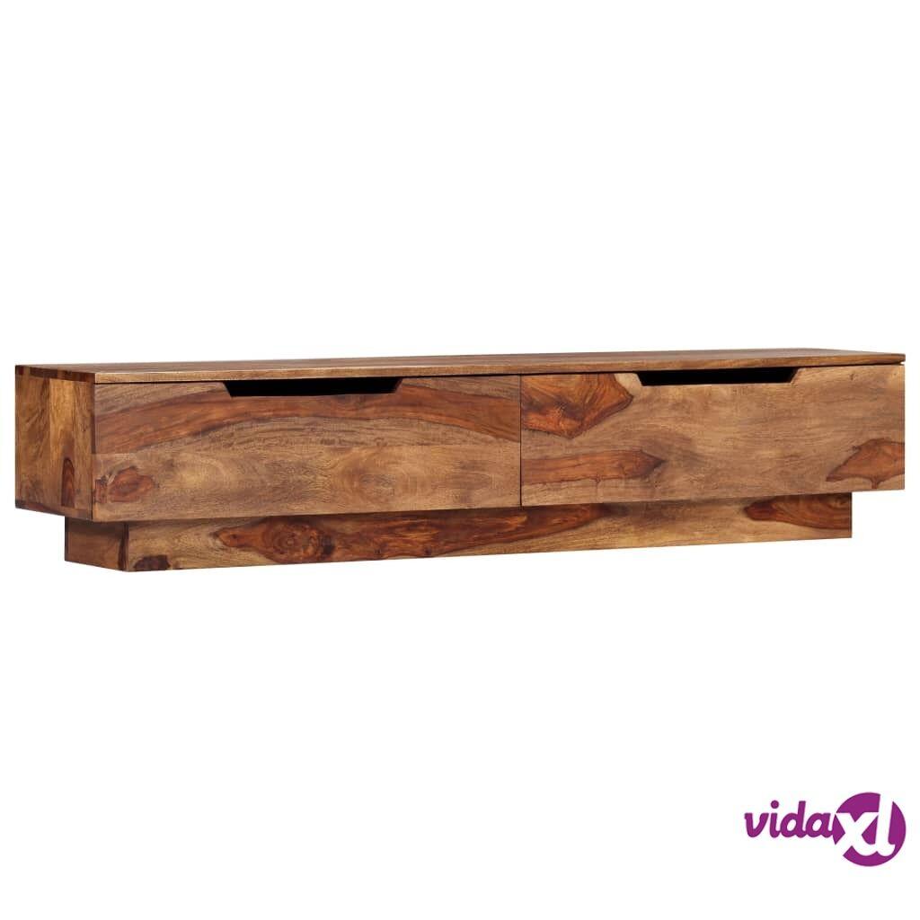 vidaXL TV-taso 145x30x30 cm seesampuu