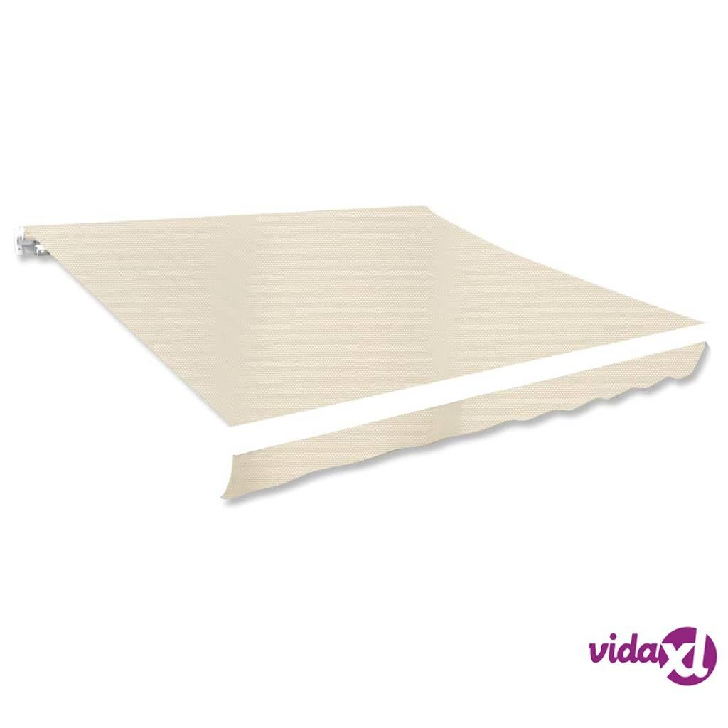 Image of vidaXL Markiisi-/aurinkovarjokangas 3 x 2,5 m kermanvärinen