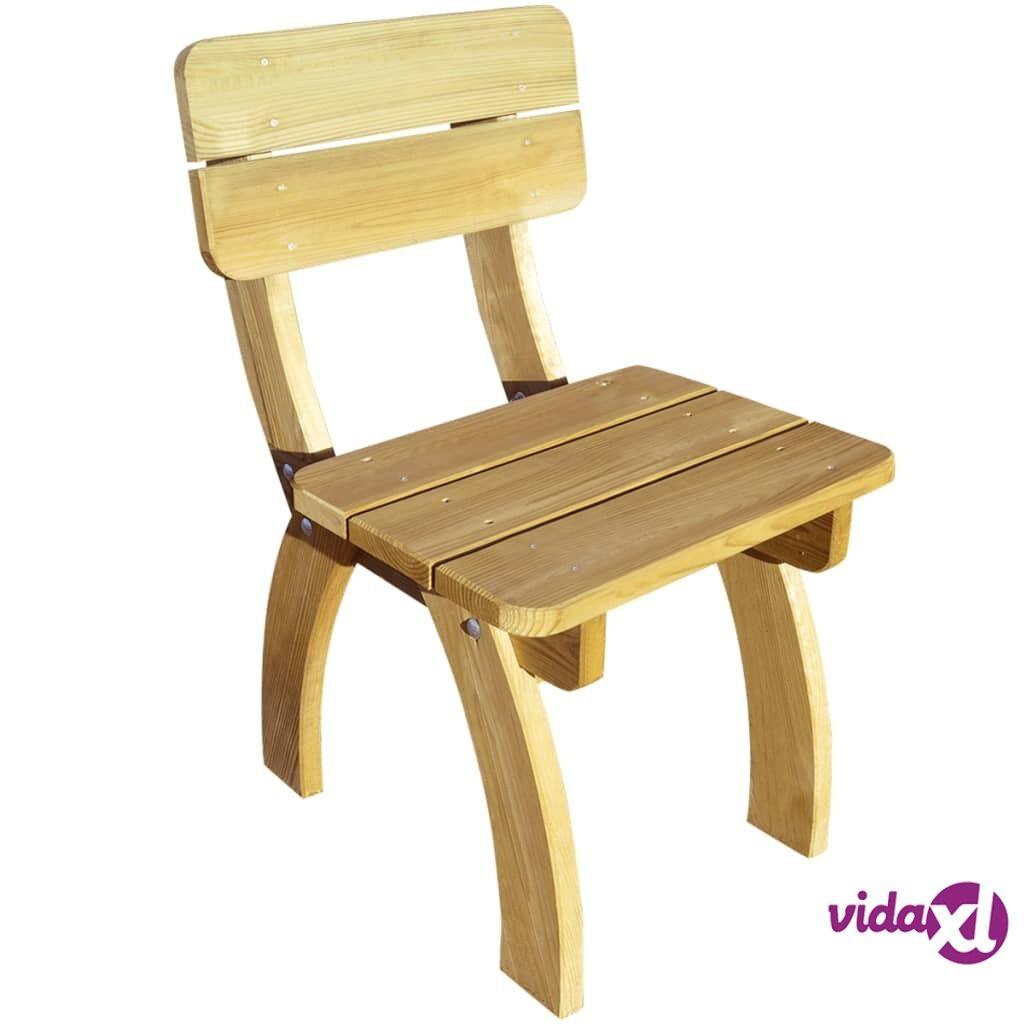 vidaXL Puutarhatuoli FSC kyllästetty mänty