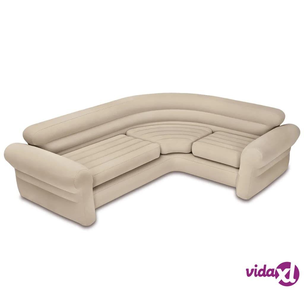 Intex Täytettävä kulmasohva/sohva 257x203x76 cm 68575NP