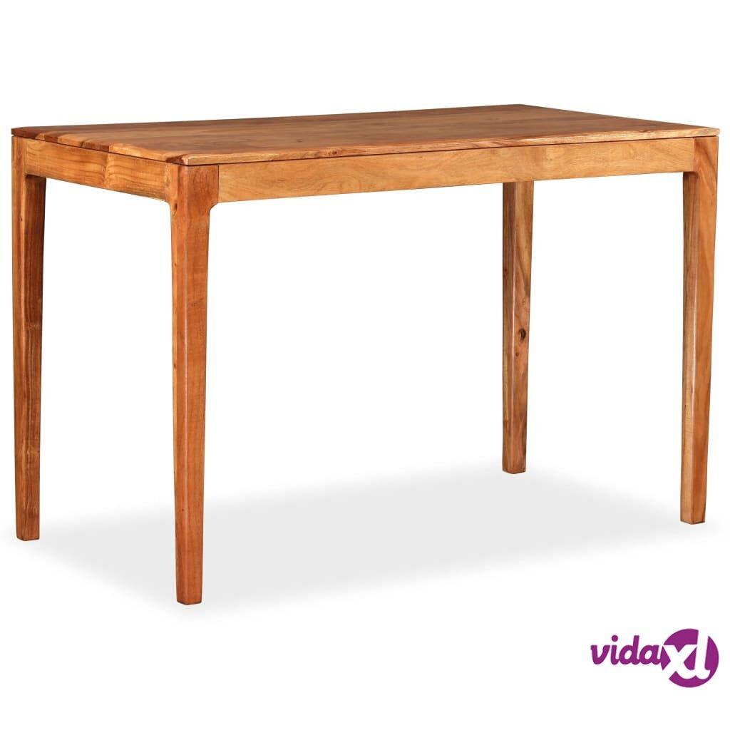 Image of vidaXL Ruokapöytä puu 118x60x76 cm