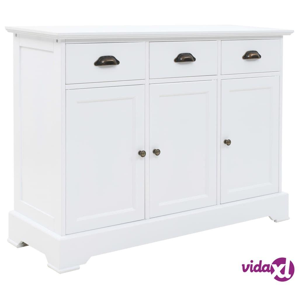 Image of vidaXL Senkki 3 ovella MDF ja mänty 105x35x77,5 cm