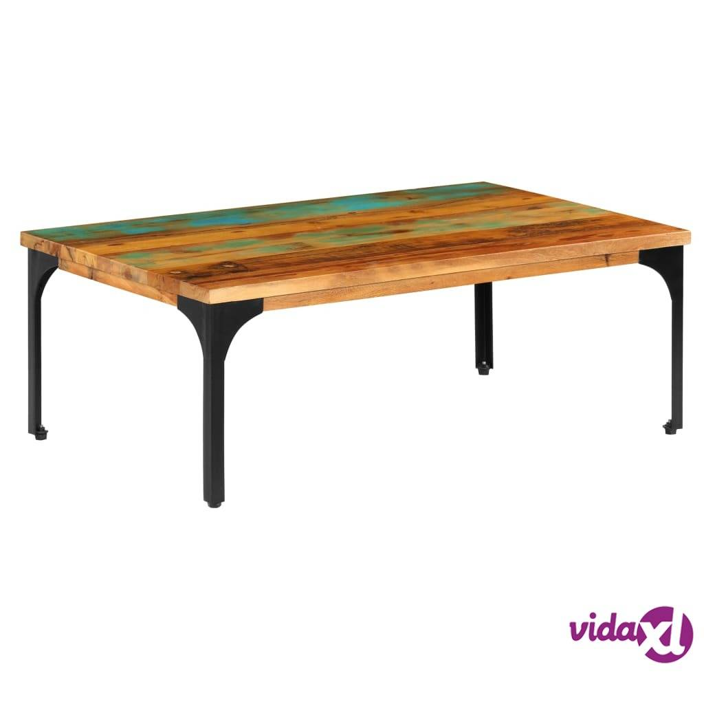 Image of vidaXL Sohvapöytä 100x60x35 cm kierrätetty puu