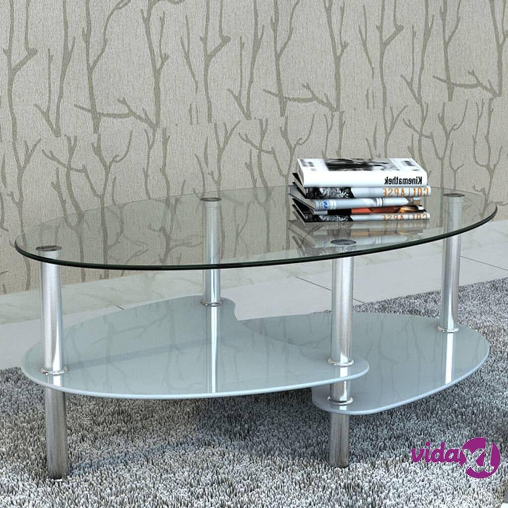 Image of vidaXL Sohvapöytä yksilöllinen 3-tasoinen muotoilu Valkoinen
