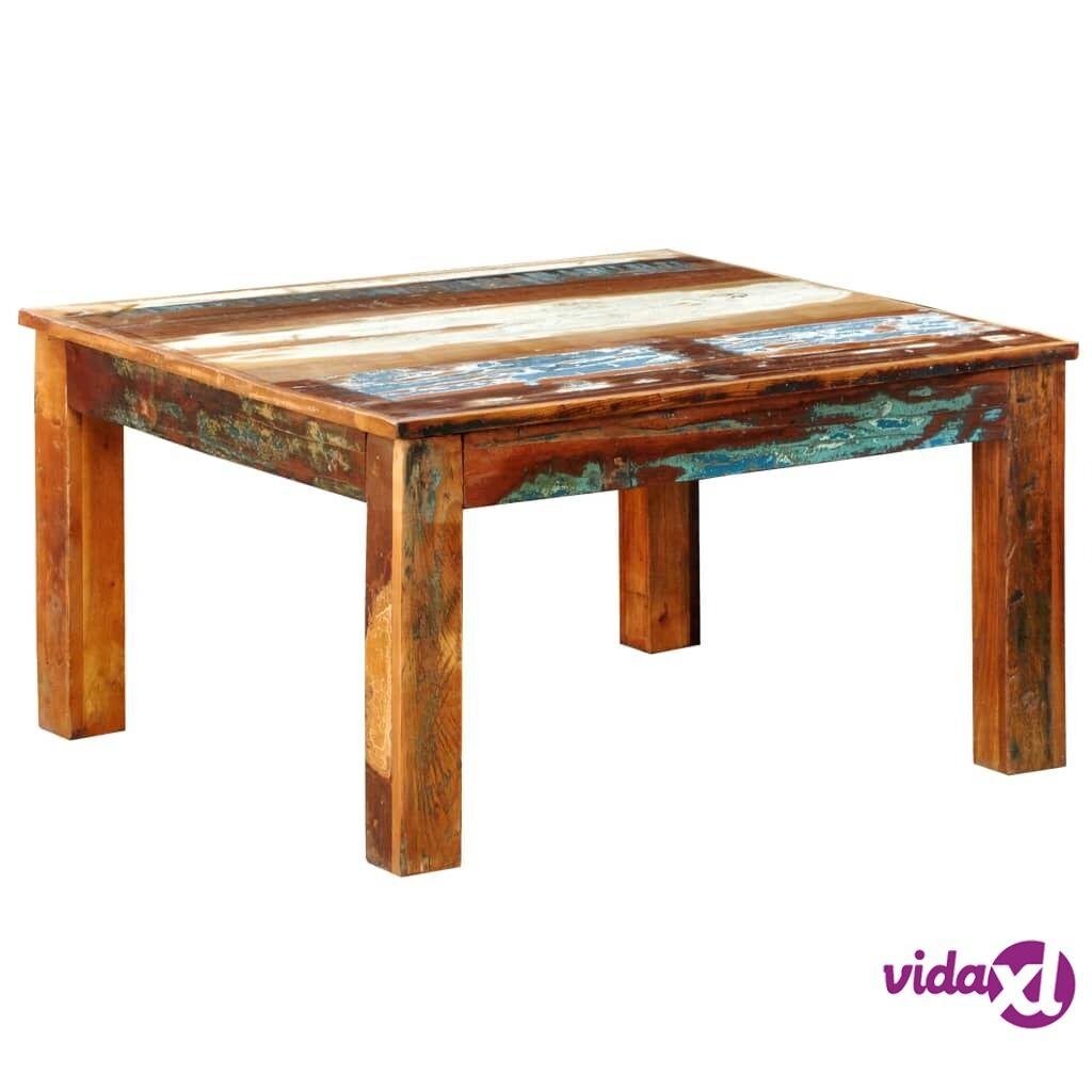 Image of vidaXL Sohvapöytä neliö Kierrätetty puu