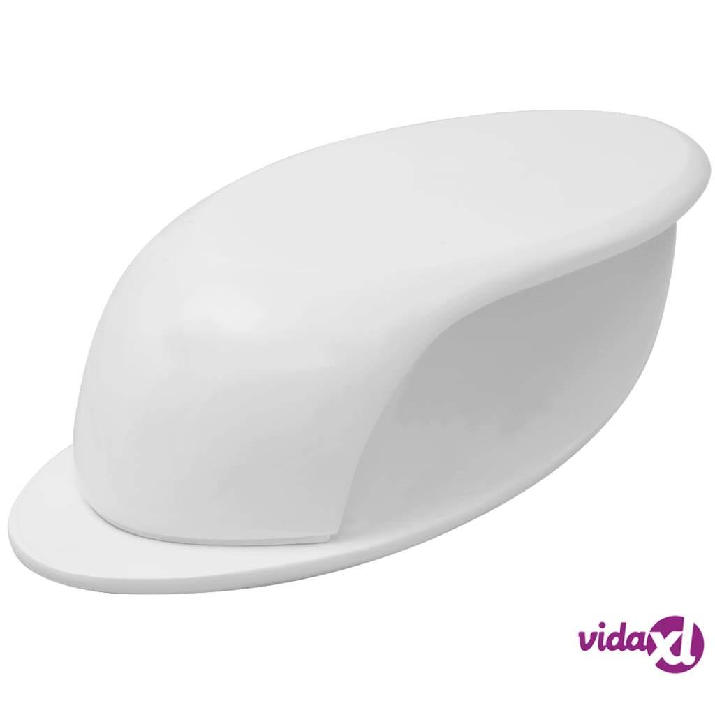 Image of vidaXL Sohvapöytä lasikuitu korkeakiilto Valkoinen