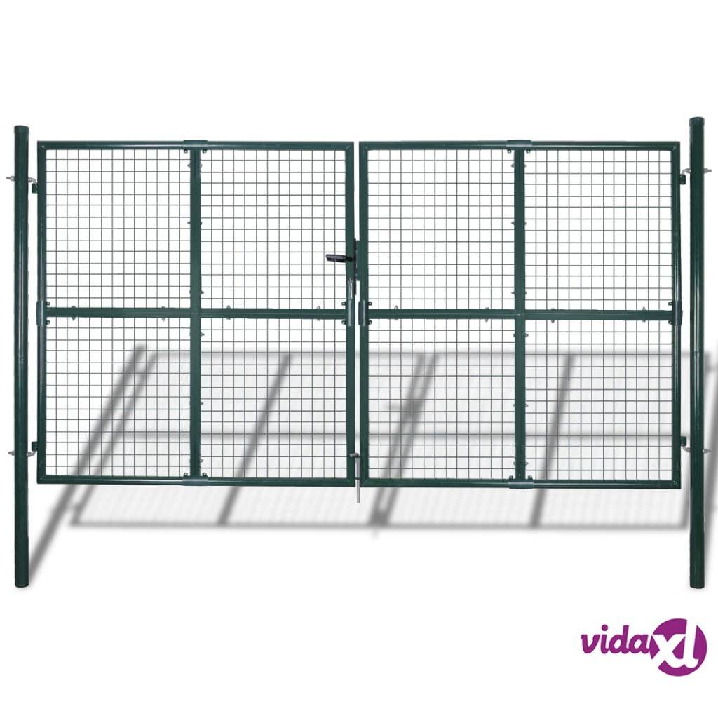 vidaXL Puutarhan Verkko-aidan Portti 289 x 200 cm / 306 x 250 cm