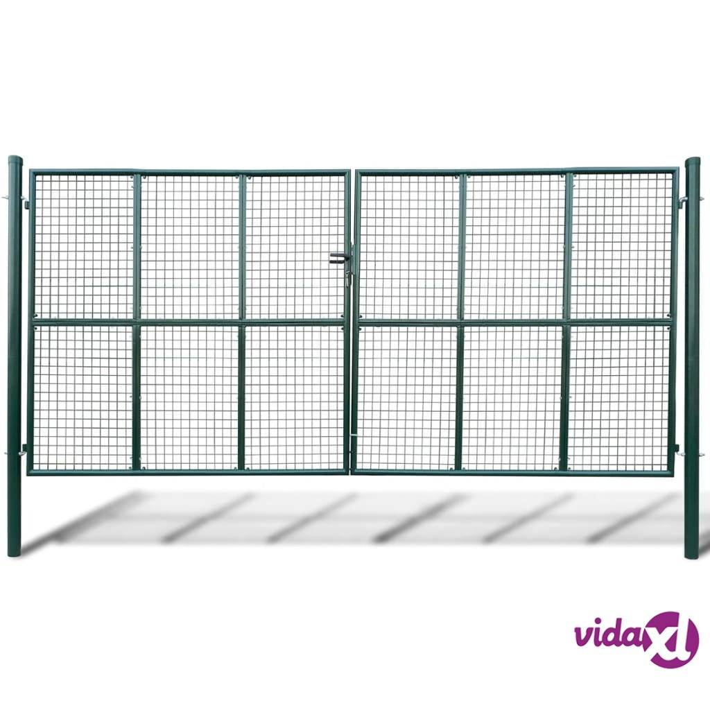 vidaXL Puutarhan Verkko-aidan Portti 415 x 225 cm / 400 x 175 cm