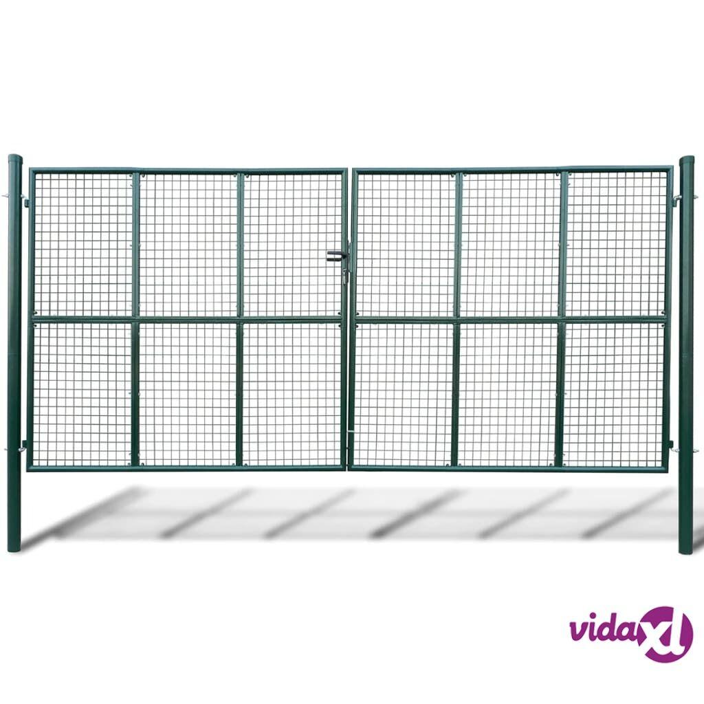 vidaXL Puutarhan Verkko-aidan Portti 415 x 250 cm / 400 x 200 cm