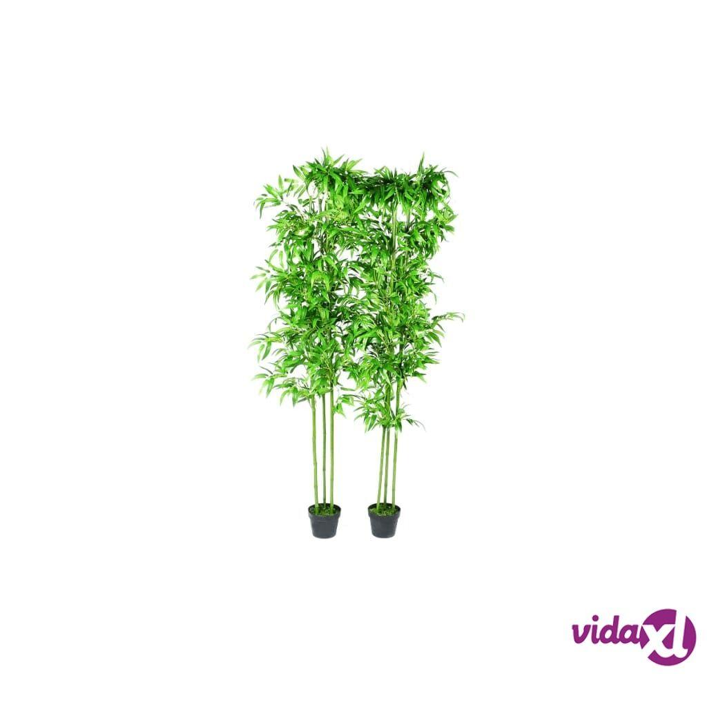 Image of vidaXL 2-osainen Bambu Keinokasvisarja Kotisisustus 190 cm