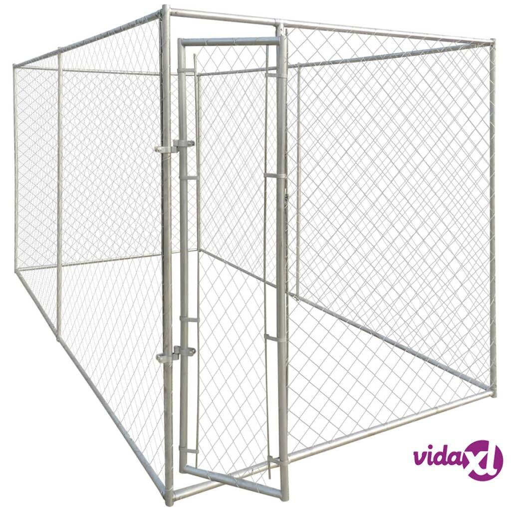 Image of vidaXL Koiran ulkohäkki 4x2 m