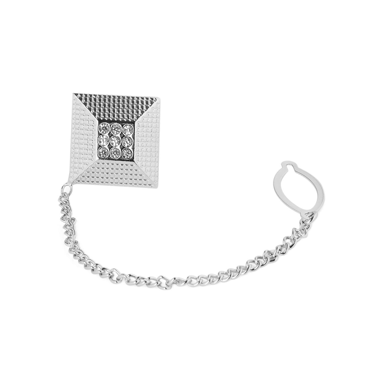 Warren Asher Pyramiidin mallinen pinssi/solmioketju