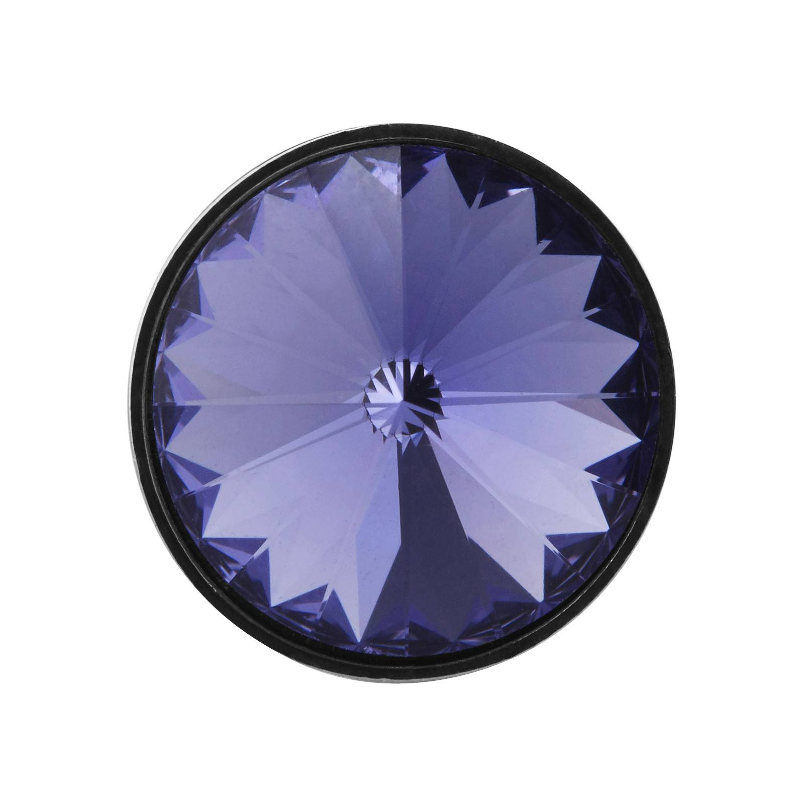 Warren Asher Violetti kristalli rintaneula