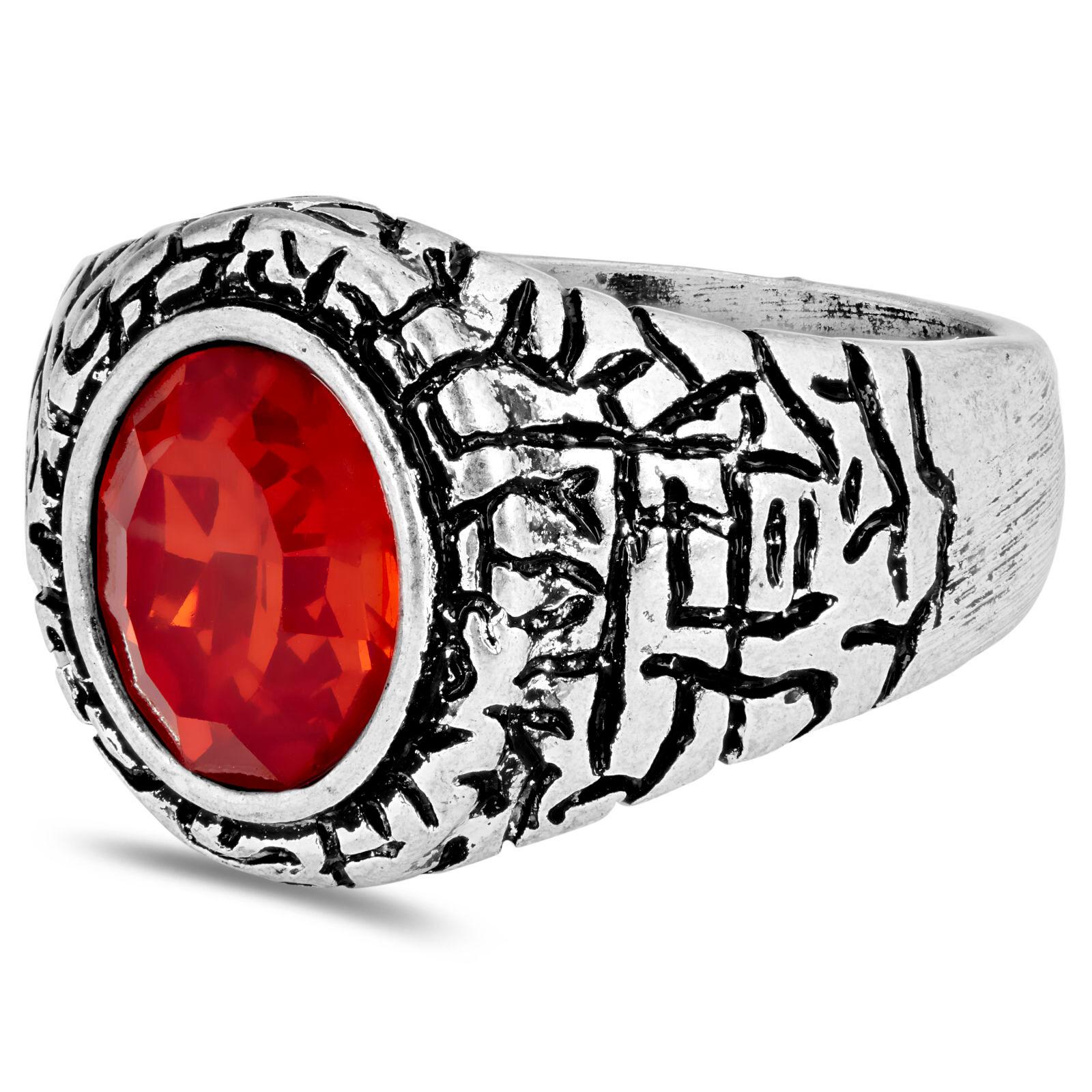 Moody Mason Punainen Miles-sormus