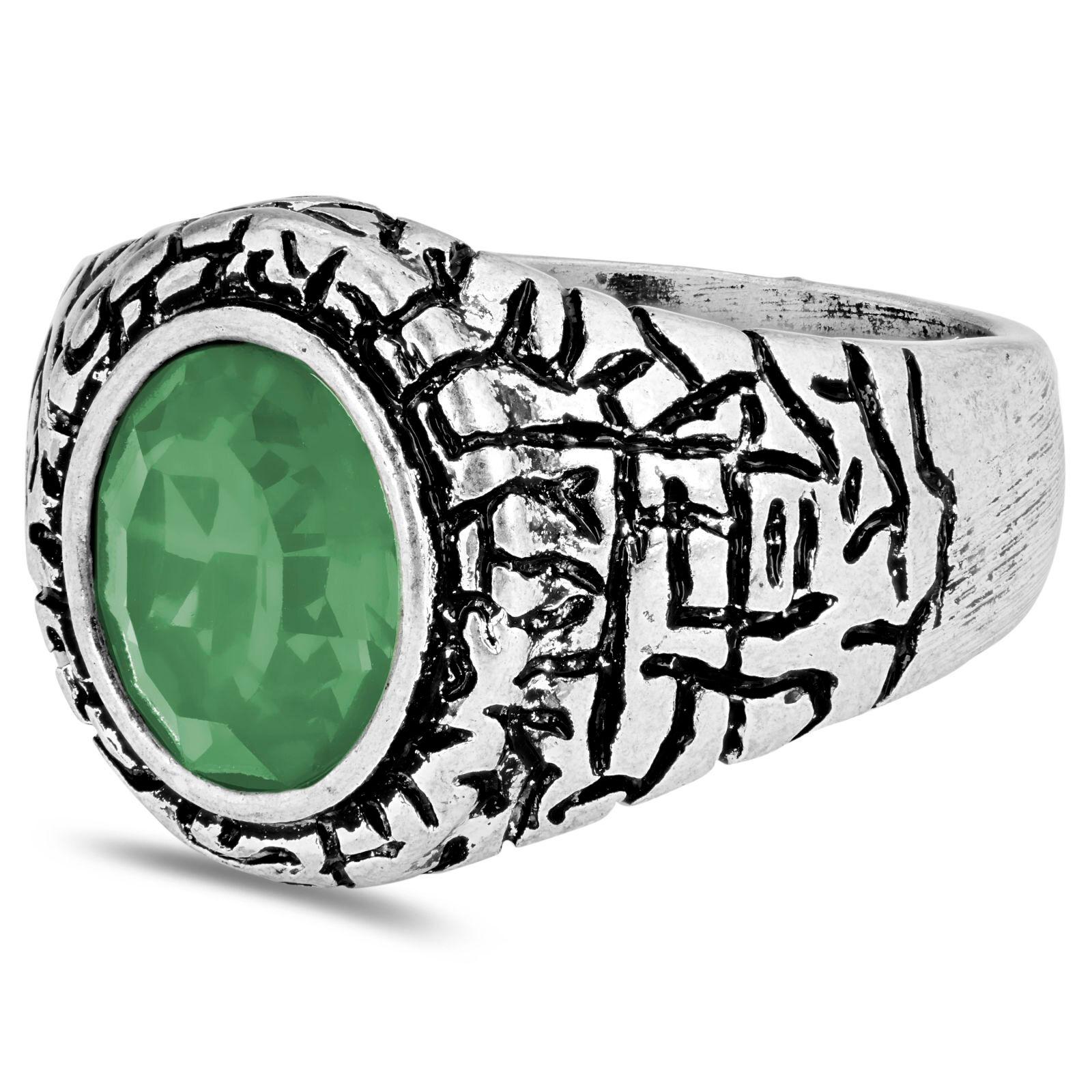 Moody Mason Vihreä Miles-sormus