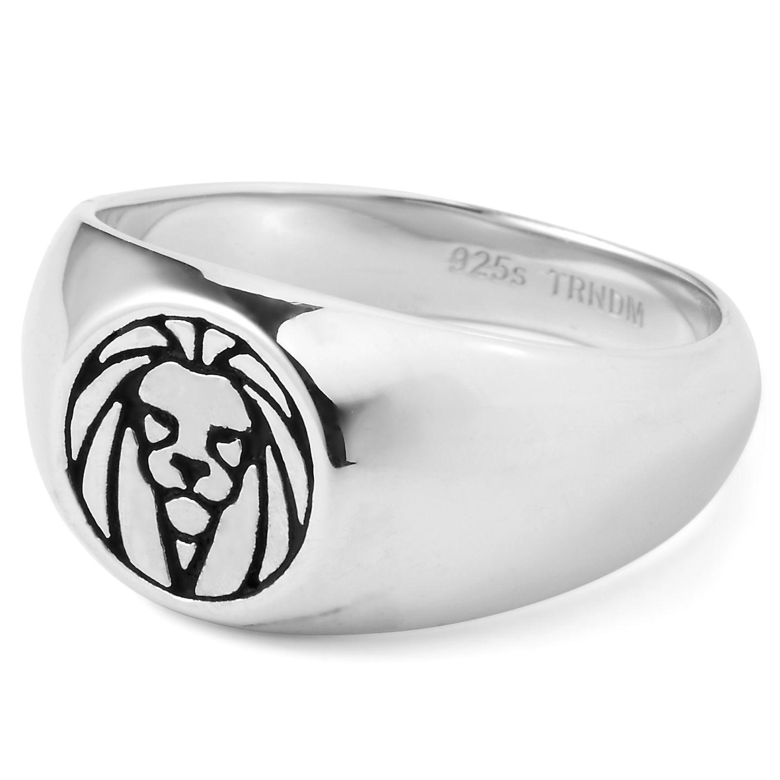 Lucleon Leijona-sormus, 925-hopeaa