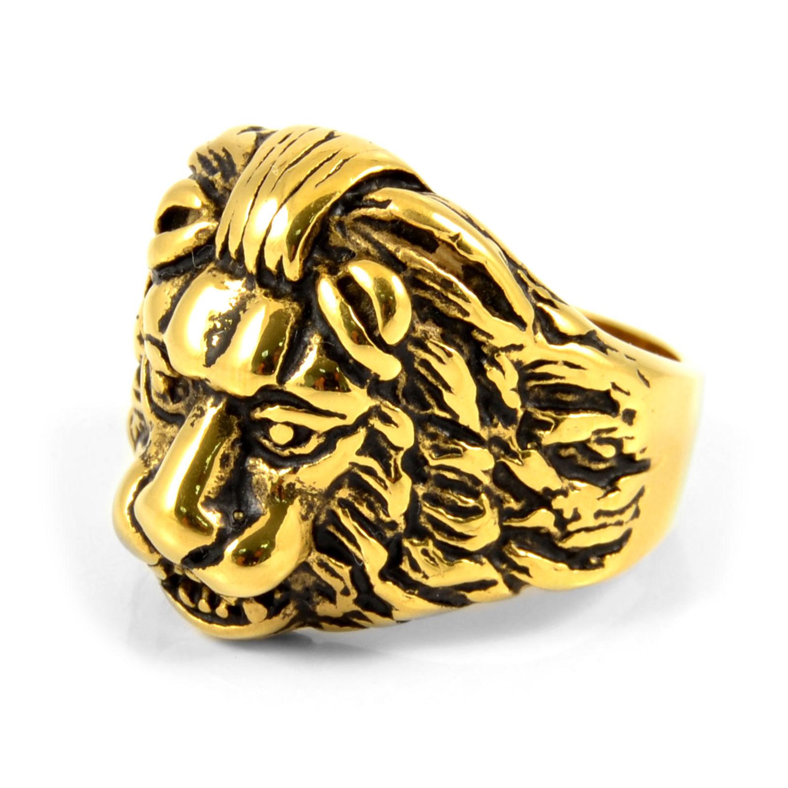 SteelCZ Kultainen Leijona Terässormus