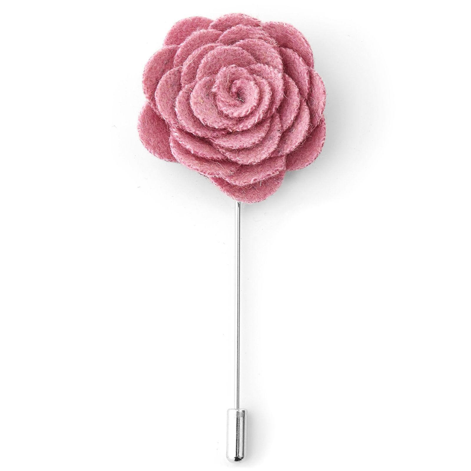 Warren Asher Pinkki ruusu -rintaneula