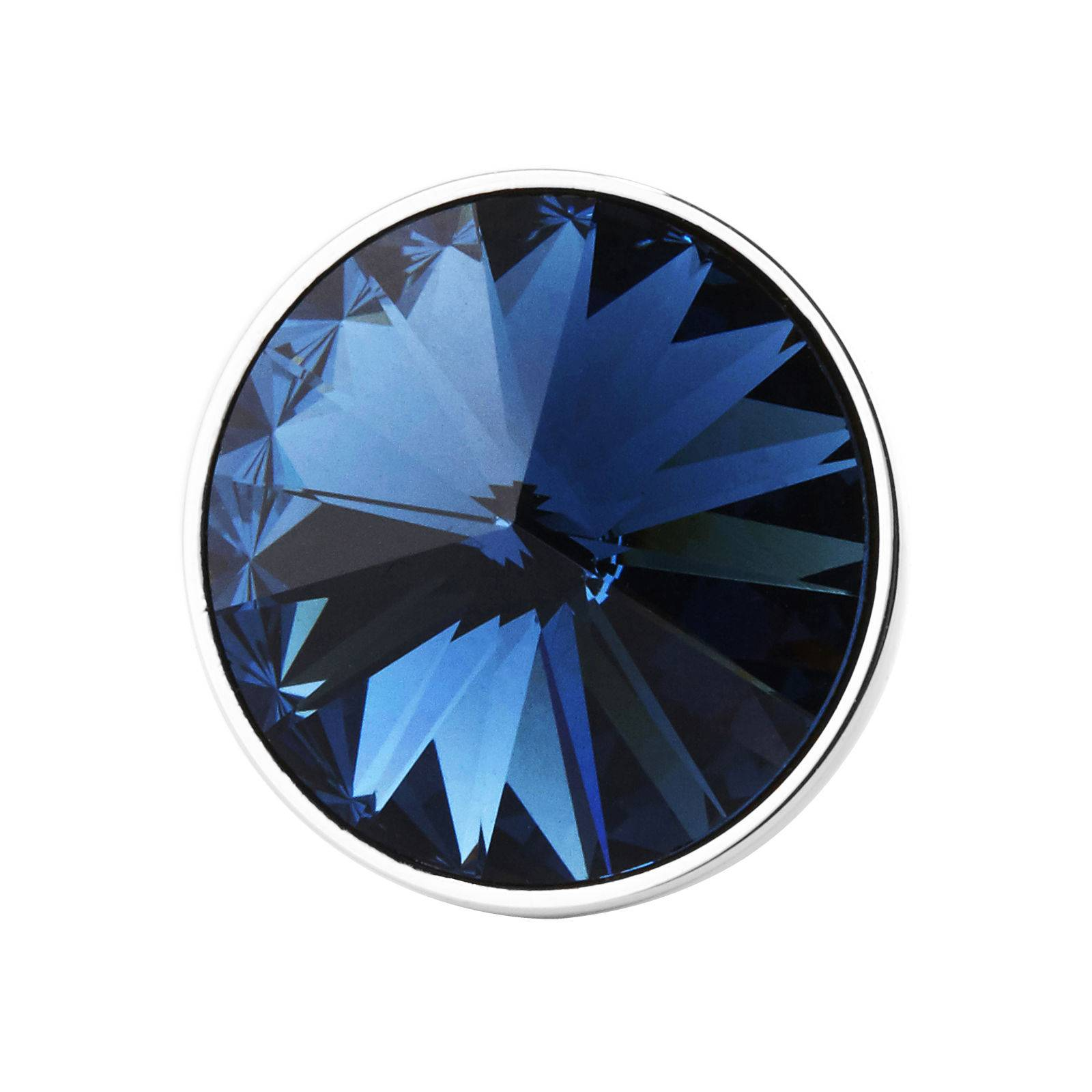 Warren Asher Sininen kristalli rintaneula