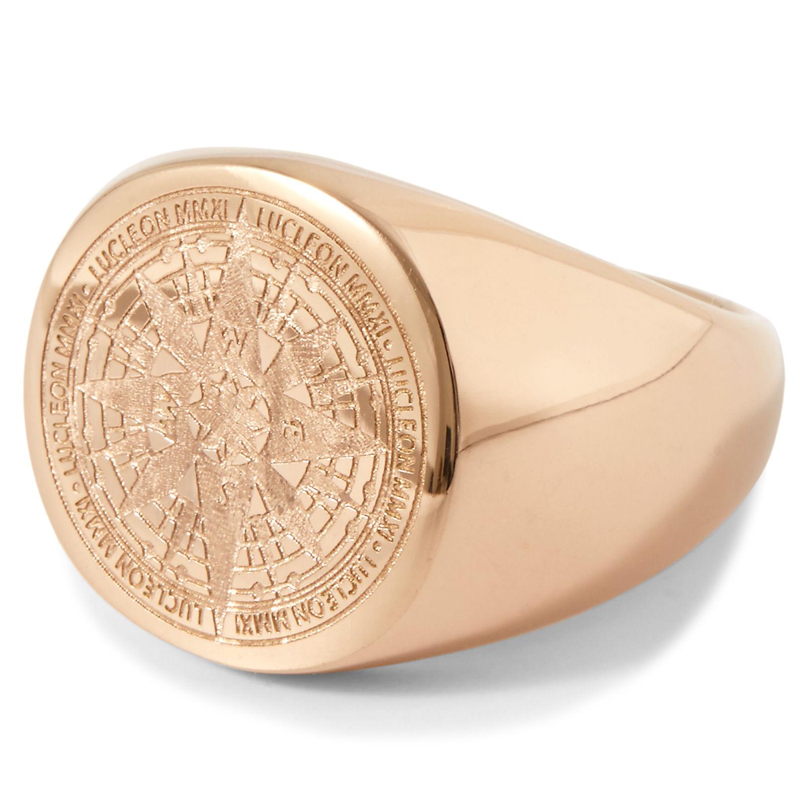 Lucleon Ruusukultainen Ryker-sormus