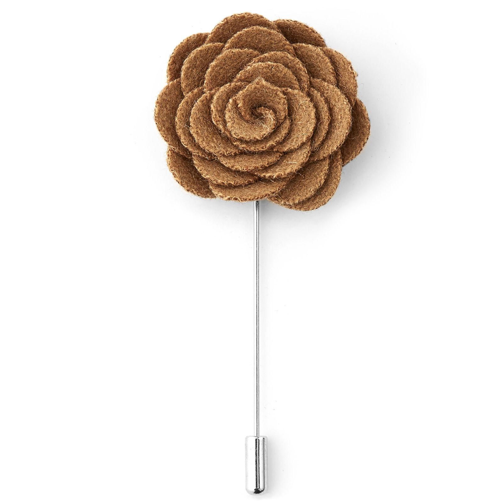 Warren Asher Keltaruskea ruusu -rintaneula