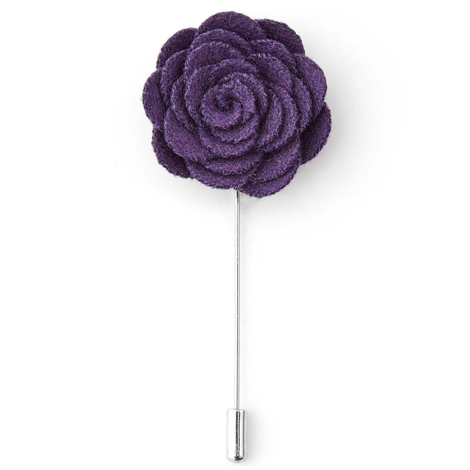Warren Asher Violetti ruusu -rintaneula