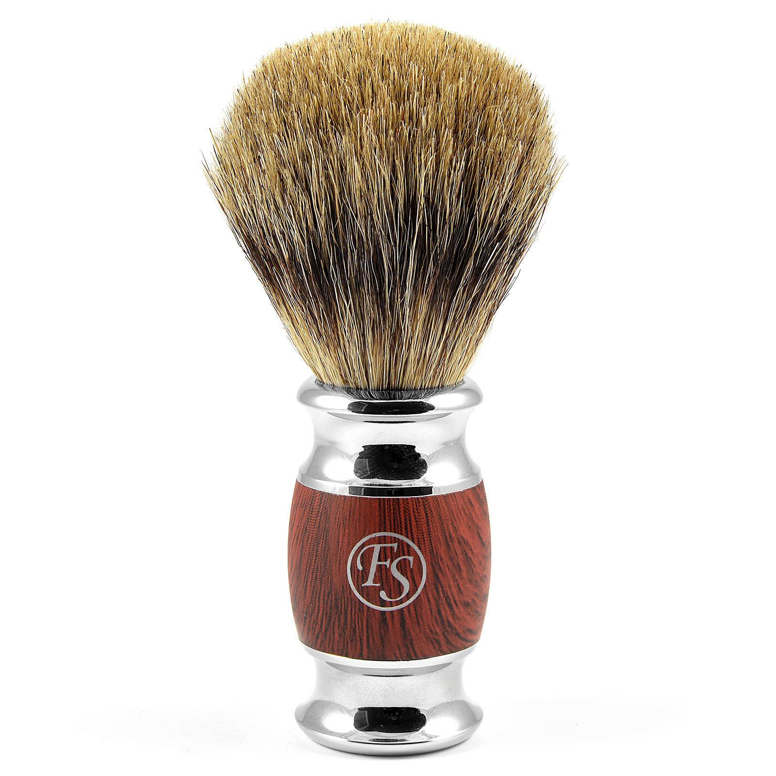 Frank Shaving Modena Pure Badger Partasuti Punapuuta