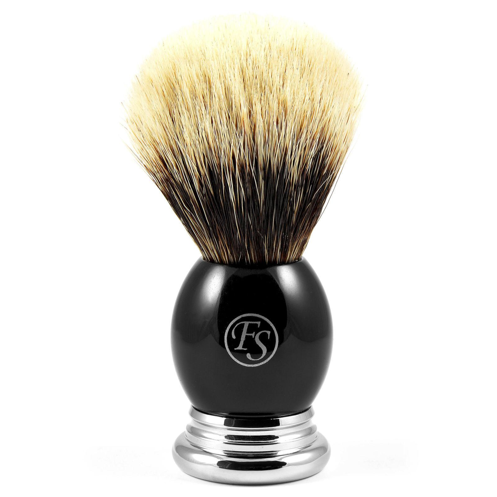 Frank Shaving Musta Finest Badger Partasuti Sarvea