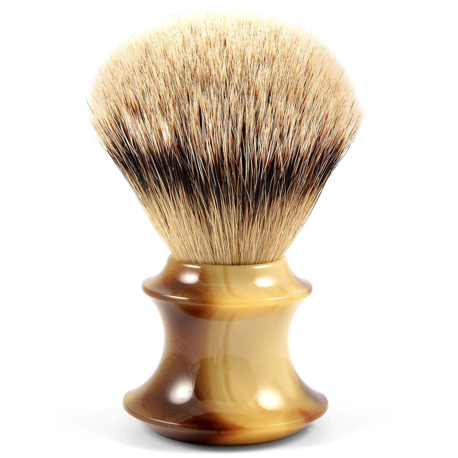 Frank Shaving Sarvikuvioinen Silvertip Mäyränkarva Partasuti