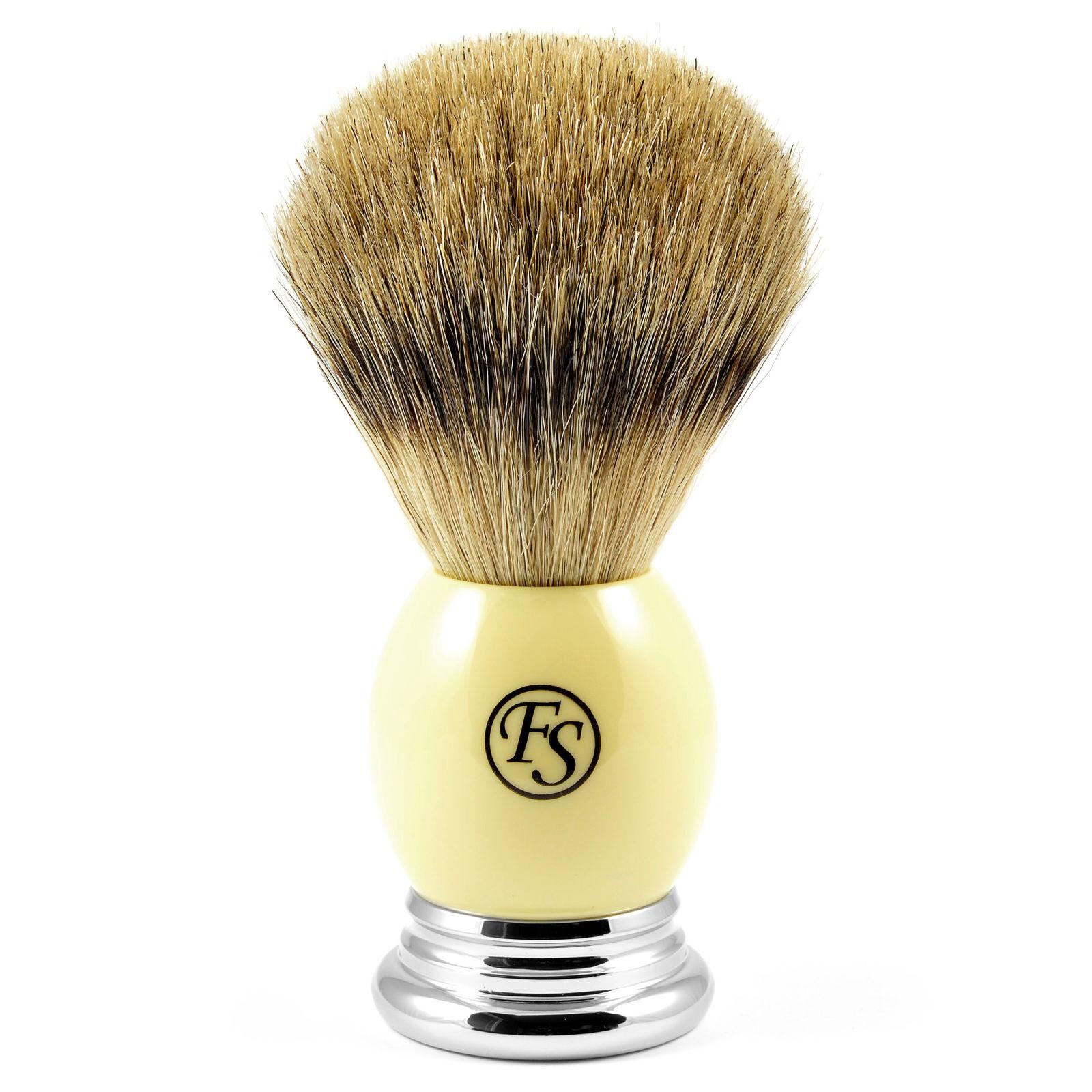 Frank Shaving Kermanvärinen Best Badger partasuti Sarvea