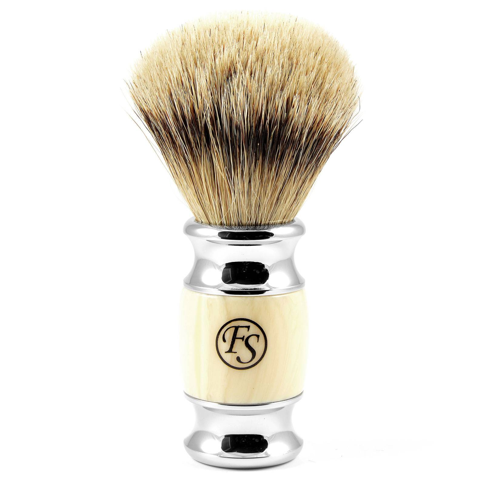Frank Shaving Kermanvärinen Modena Silvertip Partasuti