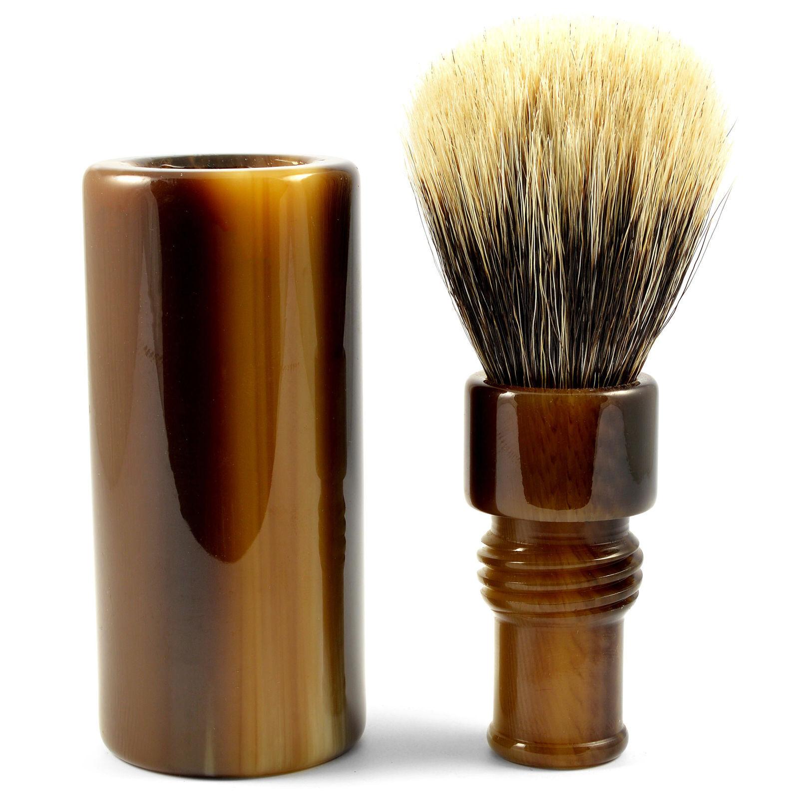 Frank Shaving Finest Badger Matkapartasuti Sarvijäljitelmää