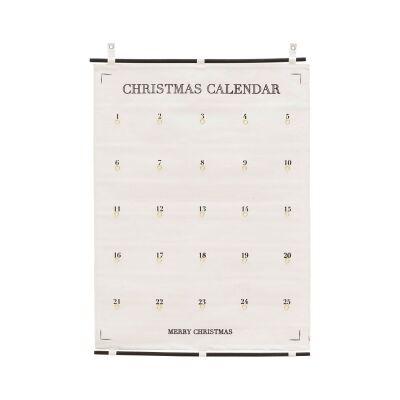 House Doctor Kalenteri 25 days till christmas, 75x100 cm