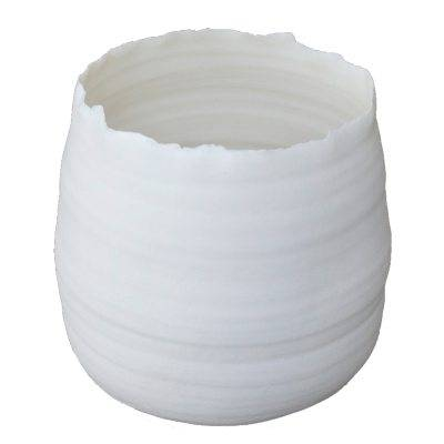 Kajsa Cramer Home Glow & Bloom vaasi round S, valkoinen