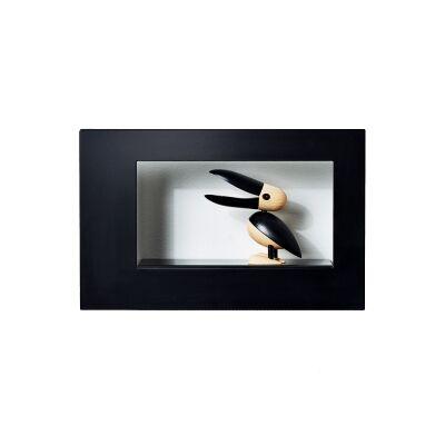Scandinavian Design Factory Frame Wide taulunkehys, musta