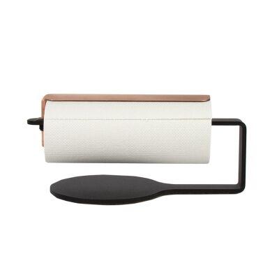 Scandinavian Design Factory Curve talouspaperipidike, musta/kupari