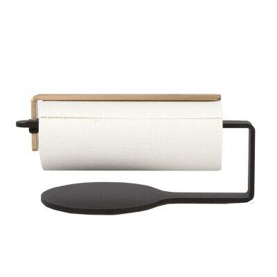 Scandinavian Design Factory Curve talouspaperipidike, musta/messinki