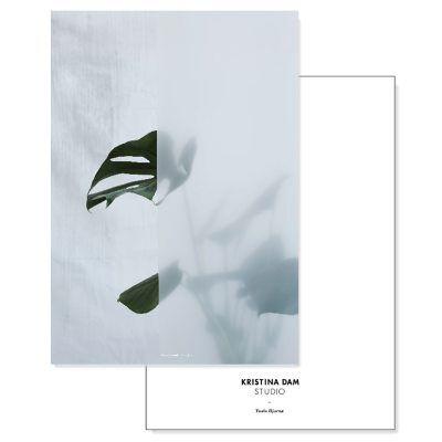 Kristina Dam Split Leaf I postikortti