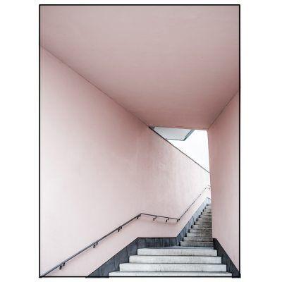 AnnaLeena Pink Stairs juliste